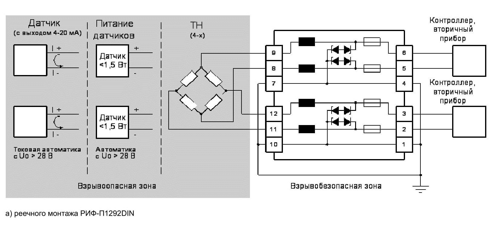 Схема подключения шлагбаума барьер 5000